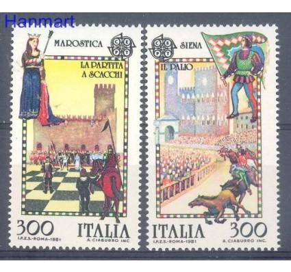 Włochy 1981 Mi 1748-1749 Czyste **