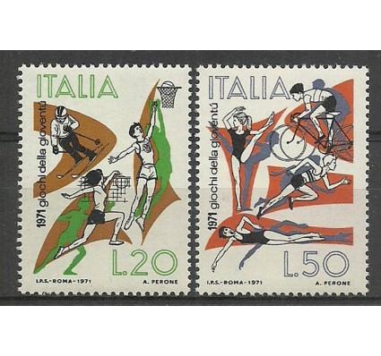 Znaczek Włochy 1971 Mi 1341-1342 Czyste **