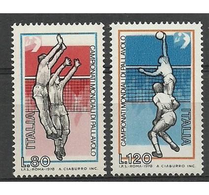 Znaczek Włochy 1978 Mi 1624-1625 Czyste **