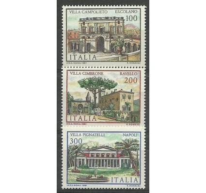 Znaczek Włochy 1981 Mi 1779-1781 Czyste **