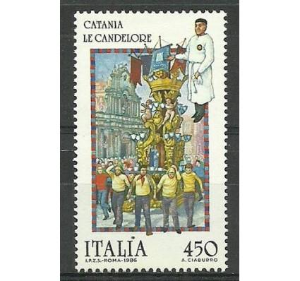 Znaczek Włochy 1986 Mi 1960 Czyste **