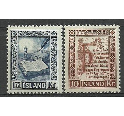 Znaczek Islandia 1953 Mi 290-291 Czyste **