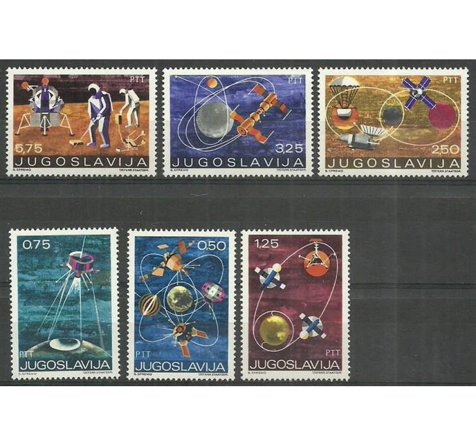 Jugosławia 1971 Mi 1409-1414 Czyste **
