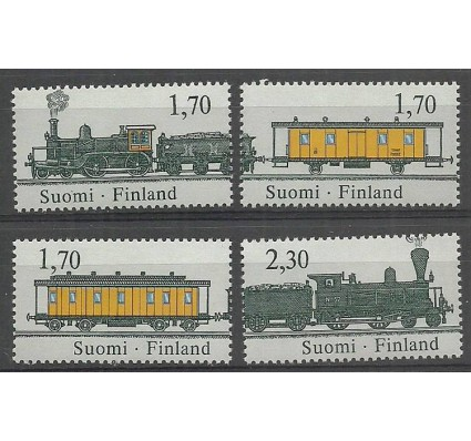 Znaczek Finlandia 1987 Mi 1017-1020 Czyste **