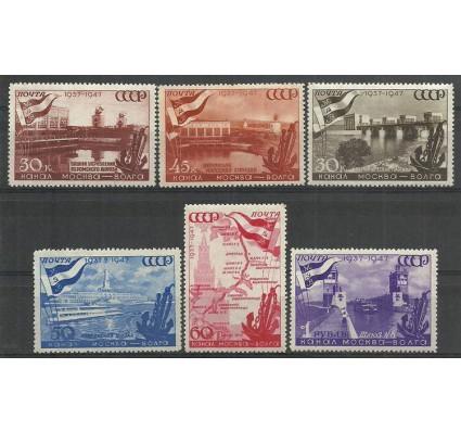 Znaczek ZSRR 1947 Mi 1131-1136 Czyste **