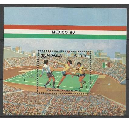 Znaczek Nikaragua 1986 Mi bl 167 Czyste **