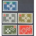 Holandia 1967 Mi 883-887 Czyste **