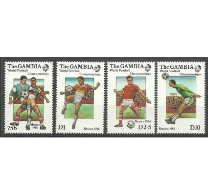 Znaczek Gambia 1986 Mi 645-648 Czyste **