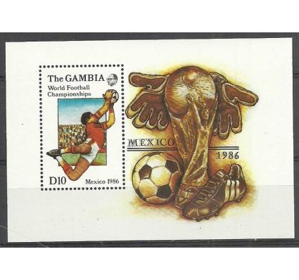 Znaczek Gambia 1986 Mi bl 28 Czyste **
