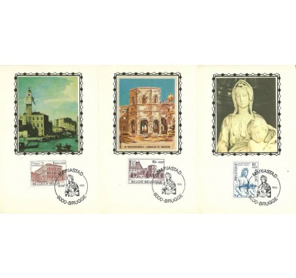 Znaczek Belgia 1975 Mi 1811-1813 Karta Max