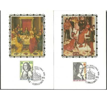Znaczek Belgia 1975 Mi 1818-1819 Karta Max
