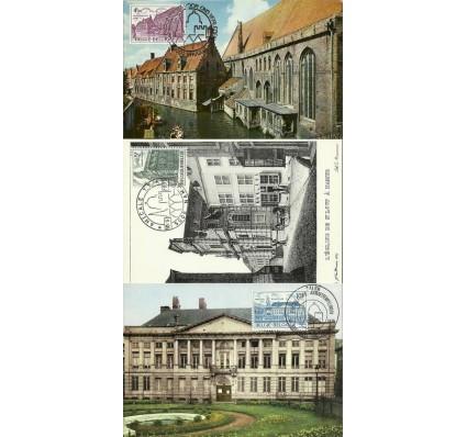 Znaczek Belgia 1975 Mi 1821-1823 Karta Max
