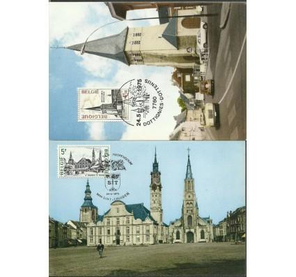 Znaczek Belgia 1975 Mi 1824-1825 Karta Max