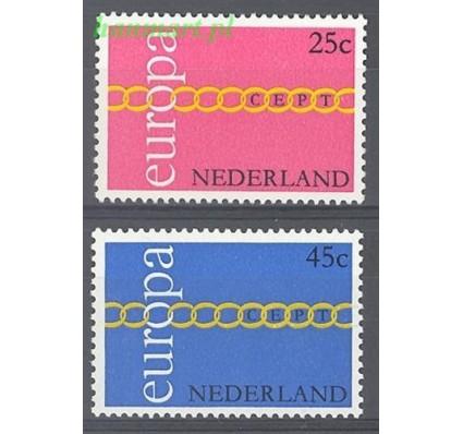 Holandia 1971 Mi 963-964 Czyste **
