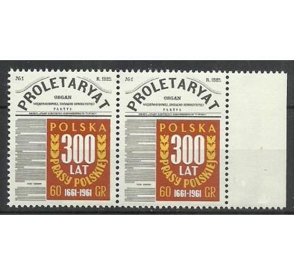 Znaczek Polska 1961 Mi 1219 Fi 1075 Czyste **