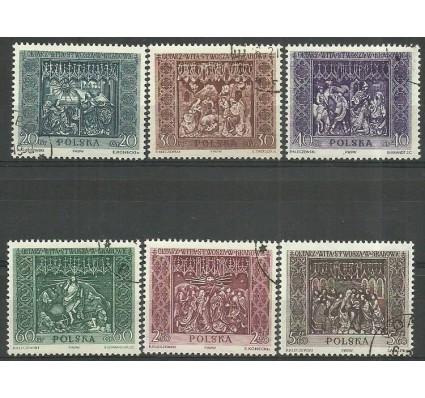 Znaczek Polska 1960 Mi 1179-1184 Fi 1035-1040 Stemplowane