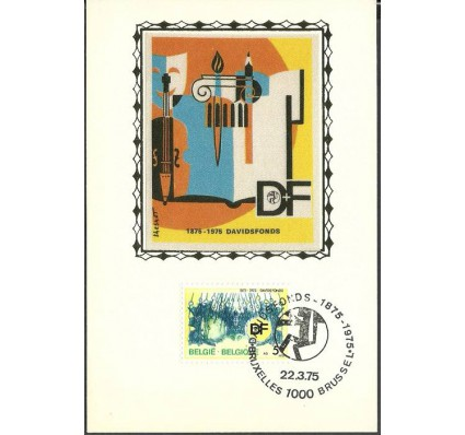 Znaczek Belgia 1975 Mi 1809 Karta Max