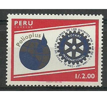 Znaczek Peru 1988 Mi 1372 Czyste **