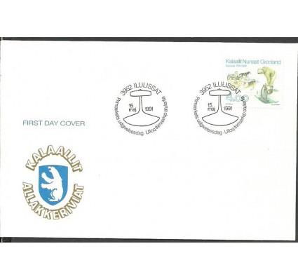 Znaczek Grenlandia 1991 Mi 219 FDC