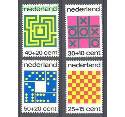 Holandia 1973 Mi 1019-1022 Czyste **