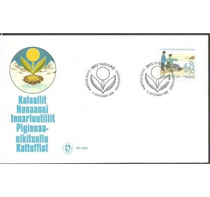 Znaczek Grenlandia 1996 Mi 296y FDC