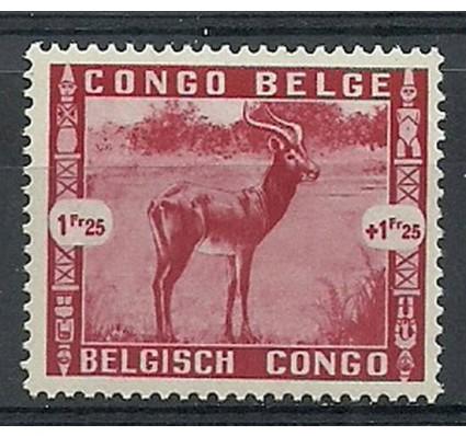 Znaczek Kongo Belgijskie 1939 Mi 186 Czyste **
