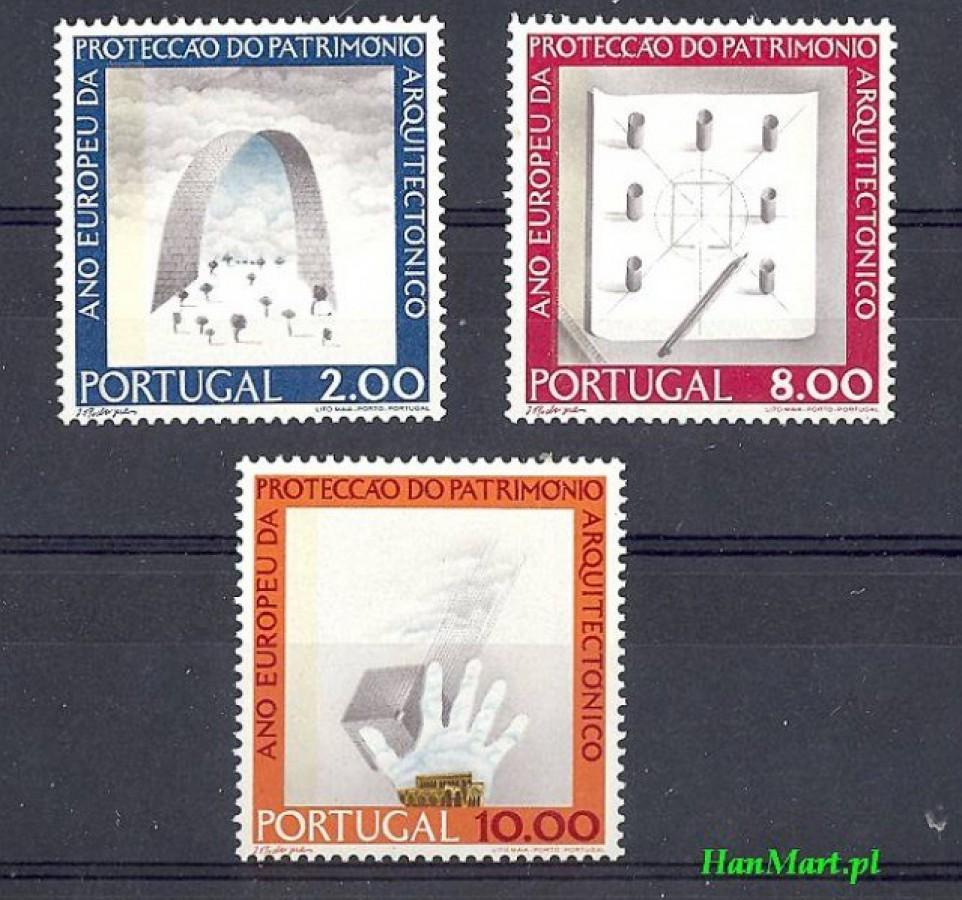 Portugalia 1975 Mi 1298-1300 Czyste **
