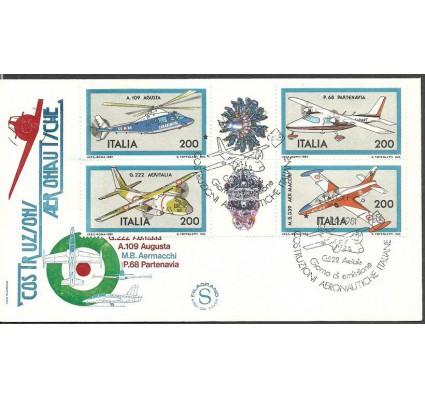 Znaczek Włochy 1981 Mi 1752-1755 FDC