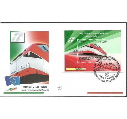 Znaczek Włochy 2010 Mi bl 49 FDC