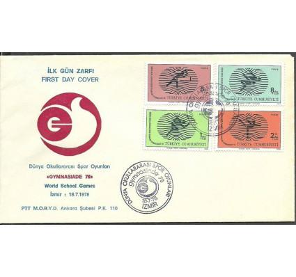 Znaczek Turcja 1978 Mi 2453-2456 FDC