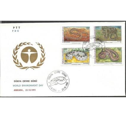 Znaczek Turcja 1991 Mi 2938-2941 FDC