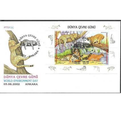 Znaczek Turcja 2002 Mi bl 48 FDC