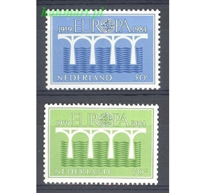 Holandia 1984 Mi 1251-1252 Czyste **