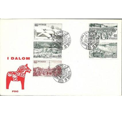 Znaczek Szwecja 1973 Mi 794-798 FDC