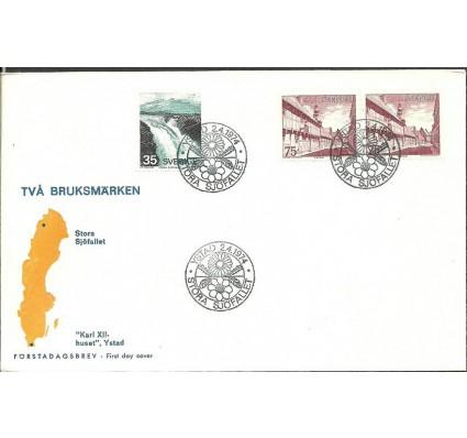 Znaczek Szwecja 1974 Mi 844yC-845yDlDr FDC
