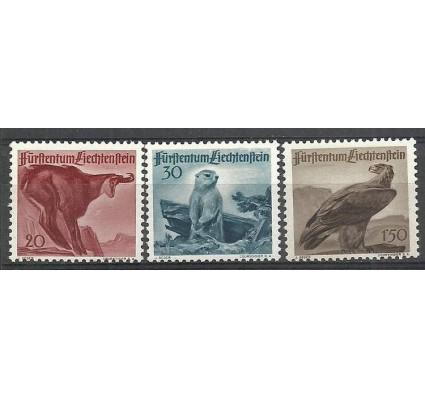 Znaczek Liechtenstein 1947 Mi 253-255 Czyste **