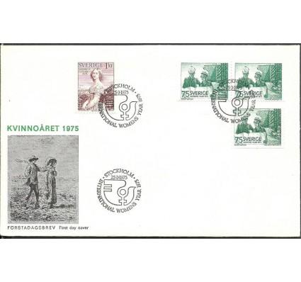 Znaczek Szwecja 1975 Mi 892ADlDr-893 FDC