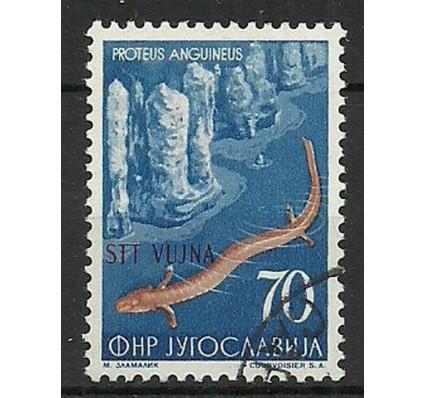 Znaczek Triest - Jugosławia Zone B 1954 Mi 133 Stemplowane