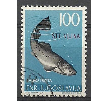 Znaczek Triest - Jugosławia Zone B 1954 Mi 134 Stemplowane