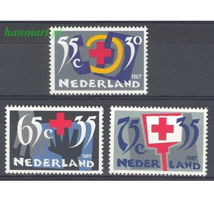 Holandia 1987 Mi 1323-1325 Czyste **