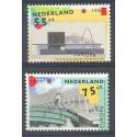 Holandia 1987 Mi 1318-1319 Czyste **