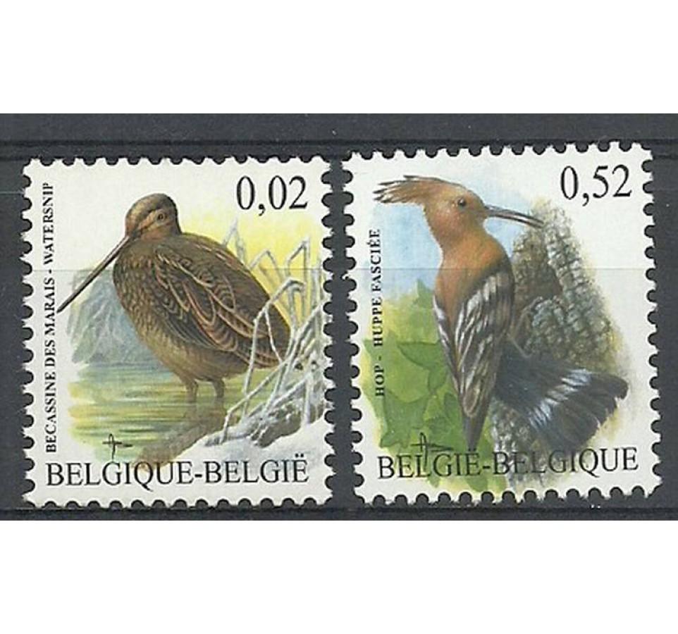 Belgia 2003 Mi 3251x-3252w Czyste **