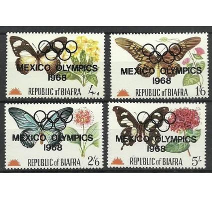 Znaczek Biafra 1968 Mi 31-34 Czyste **