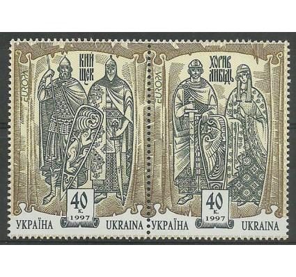 Znaczek Ukraina 1997 Mi 201-202 Czyste **