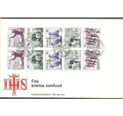 Znaczek Szwecja 1978 Mi h-blatt 93 FDC