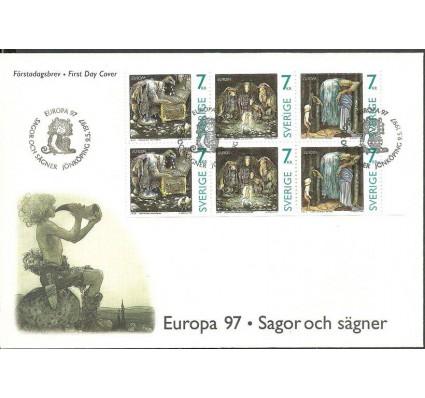 Znaczek Szwecja 1997 Mi h-blatt 255 FDC