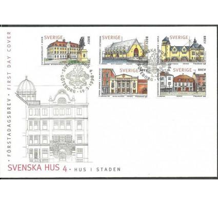 Znaczek Szwecja 1998 Mi h-blatt 266 FDC