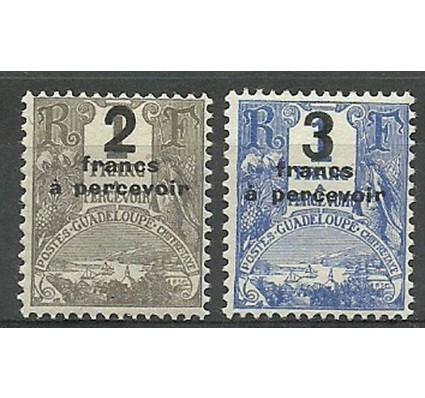 Znaczek Gwadelupa 1926 Mi por 23-24 Z podlepką *