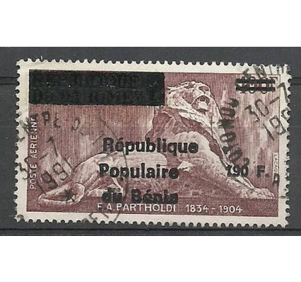 Znaczek Benin 1988 Mi U473 Stemplowane
