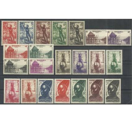 Znaczek Dahomej 1941 Mi 125-146 Czyste **